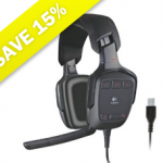 SAVE 15% on Logitech G35 Gaming Headset at Amazon